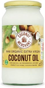 Organic Coconut Oil 1L | Extra Virgin, Raw, Cold Pressed