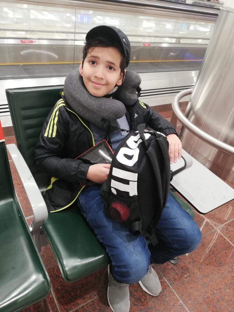 muslim boy, moving to Turkey, Hijrah to turkey,Muslim family,Halal life,hijrah,airport,Dubai airport,Istanbul, visa application