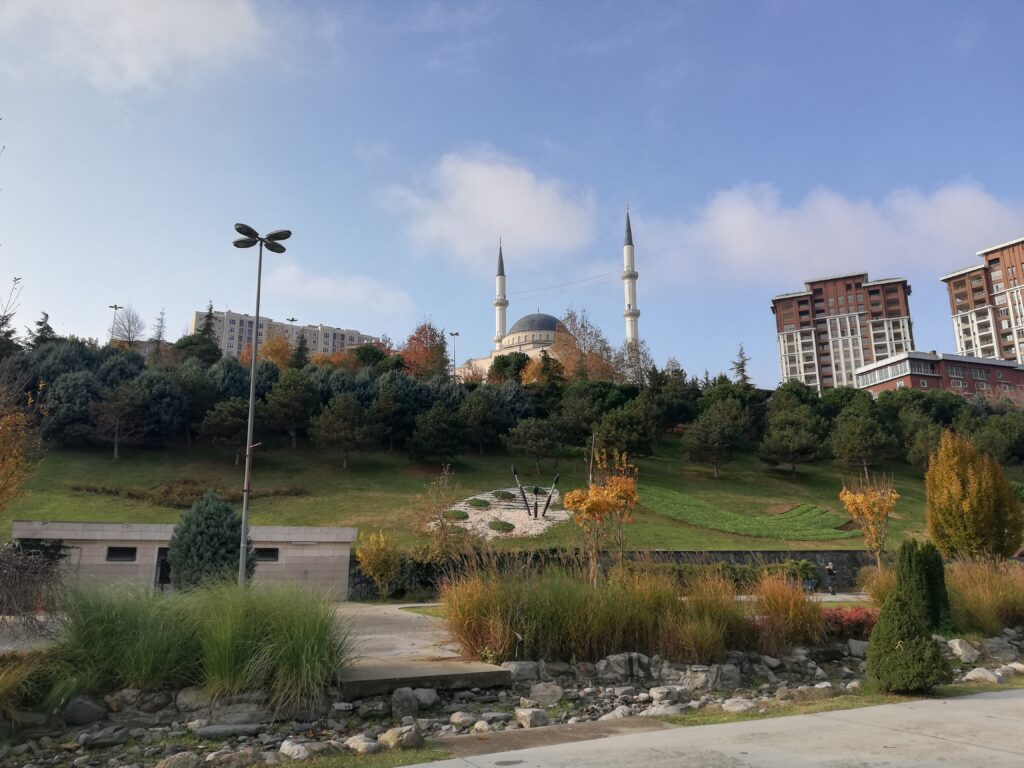 Basaksahir,Istanbul,Turkey,Masjid,Mosque,parks,December 2020